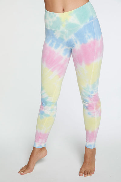 Quadrablend Seamed Panel Legging in Tie Dye WOMENS chaserbrand4.myshopify.com
