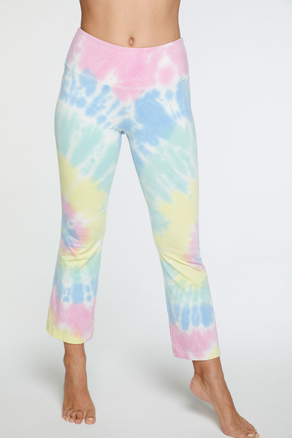 Quadrablend Flared Lounge Pant in Tie Dye