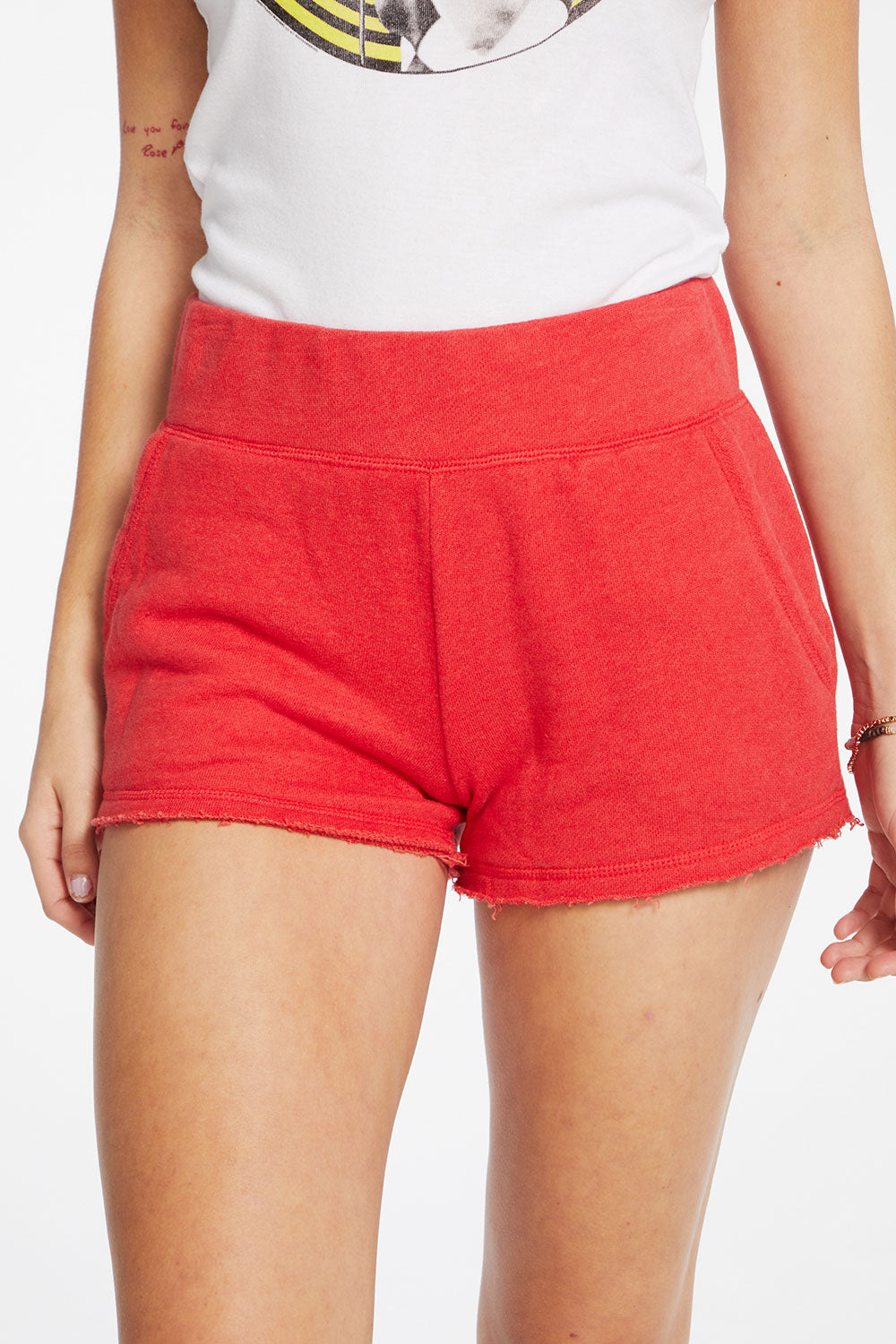 Linen French Terry Easy Shorts with Pockets