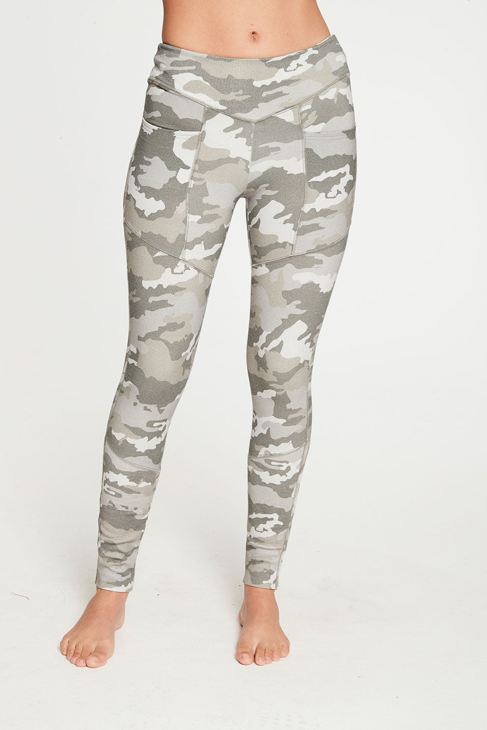 Quadrablend Paneled Rib Legging