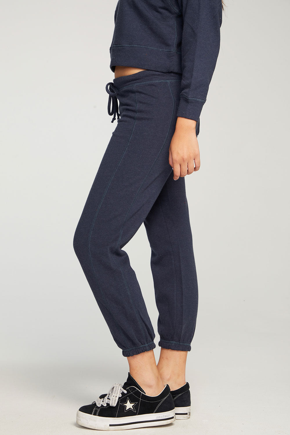 Cashmere Fleece Paneled Jogger WOMENS chaserbrand4.myshopify.com