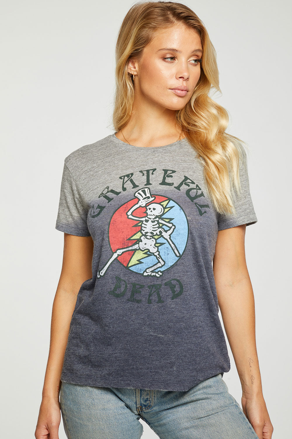 Grateful Dead - Dancing Skeleton WOMENS - chaserbrand