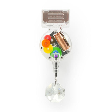 Solar-Powered Rainbow Maker With Swarovski Crystal