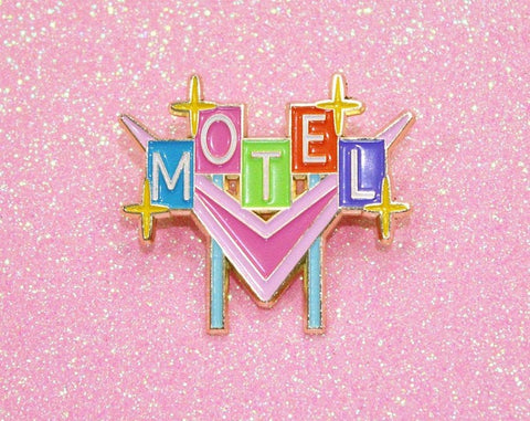 Pin - Motel Sign