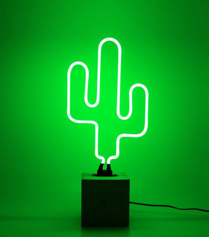Locomocean Neon Sign - Cactus (Local Pickup Only)