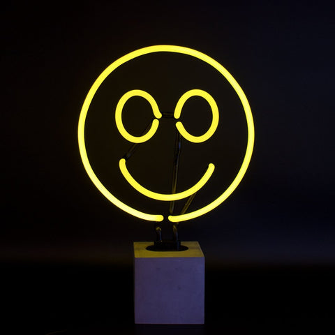 Locomocean Neon Sign - Smiley (Local Pickup ONLY)