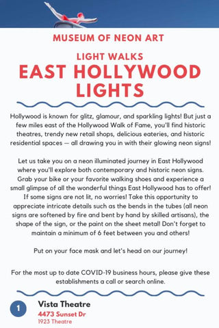 MONA Light Walks - East Hollywood Lights