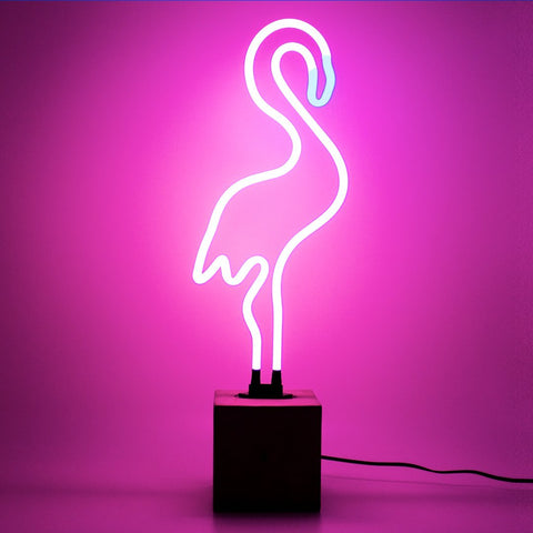Locomocean Neon Sign - Flamingo (Local Pickup Only)
