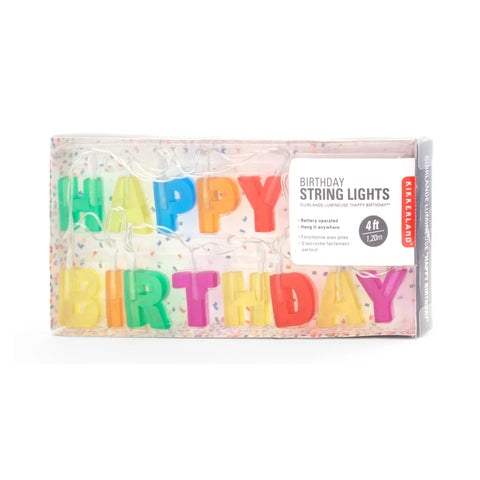 Happy Birthday String Lights