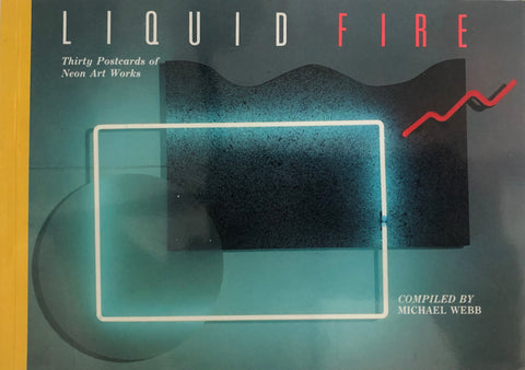 Liquid Fire Postcard Book