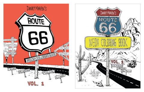 Coloring Book - Route 66
