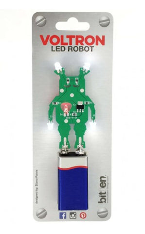 Voltron LED Robot