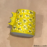 Alexis Wade Ceramic Mug - Flowers (Local Pickup Only) C#