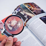 Camera Lens Magnifying Bookmark