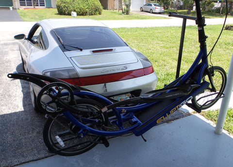 Uprights and Hitch Racks for transporting ElliptiGO's™