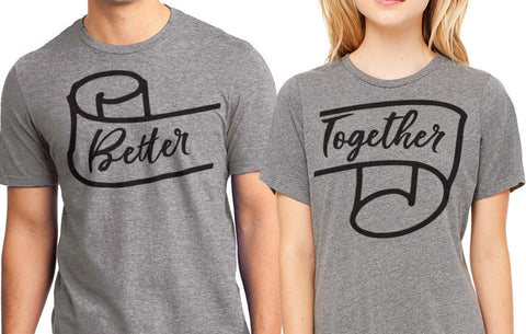 Better Together Couples Shirts Set