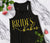 Bride's Babes VOGUE Tank Top with Gold Foil Print - 4 Colors