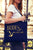 Bride's Mates Chic Navy & Gold Foil Tote Bag