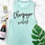 Bride Vibes Bachelorette Party Muscle Tanks - Pick Color