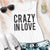 CRAZY IN LOVE Bachelorette Party Tank Top - Pick Color