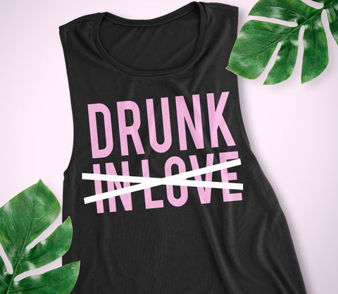 DRUNK Bachelorette Party Tank - Racerback or Muscle Tank