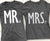 MR & MRS SHIRTS Set Pick Color