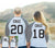 MR + MRS BASEBALL TEES CUSTOM NAMES + NUMBERS - Heather Gray