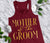 Mother of the Groom VOGUE Tank Top with Gold Foil Print - 4 Colors