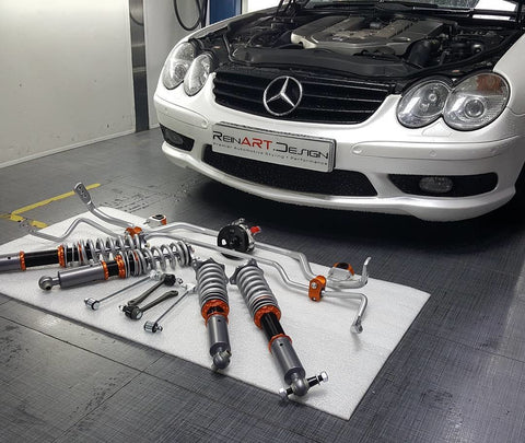 VVK R230 SL Complete Coilover conversion