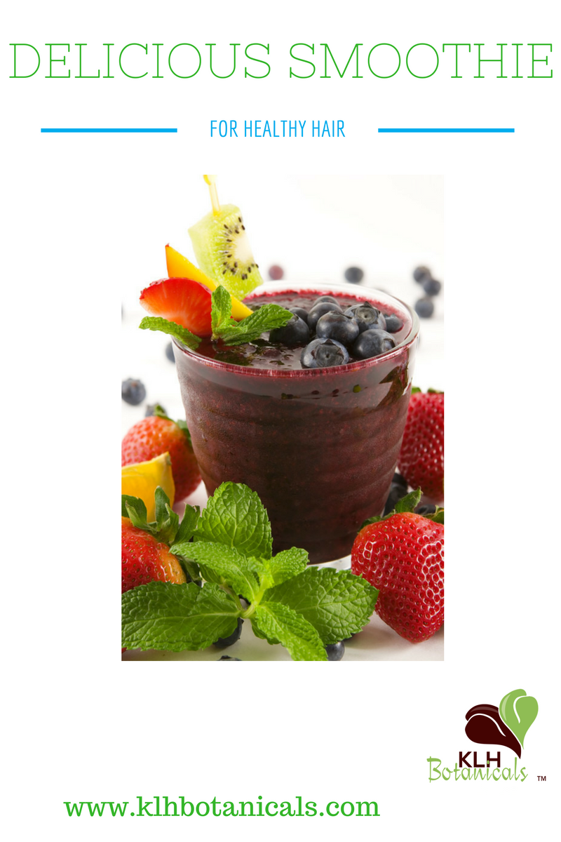 Here's a Healthy Hair Smoothie Recipe!