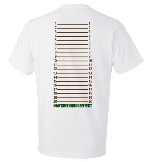 Unisex Greenhouse Length Check T-Shirt - KLH Botanicals