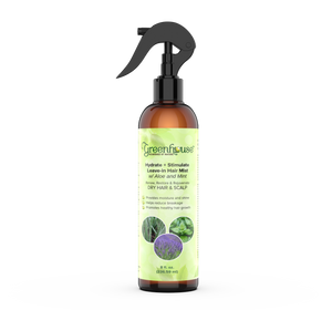 Greenhouse™ Hydrate + Stimulate Leave-in Hair Mist