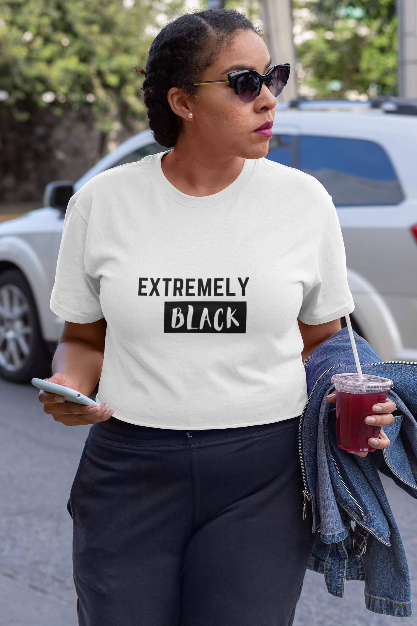 Ladies Extremely Black Tee