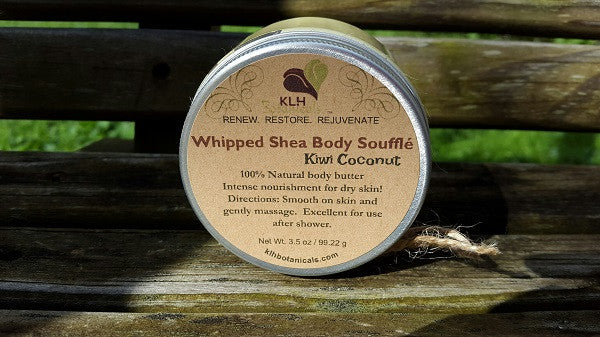 Kiwi Coconut Whipped Body Soufflé 3.5 oz - KLH Botanicals