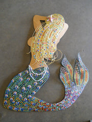 Sheet Metal Mermaid Bling by Doyle Carver