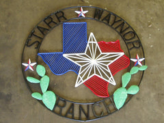 Star Waynor Ranch Sign by Doyle Carver