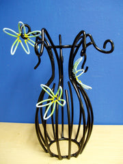 Iron Flower Vase by Doyle Carver