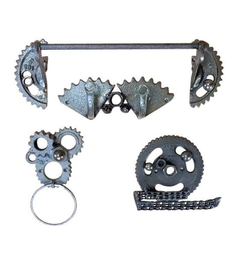 Cast Iron Gear Bathroom Accessories