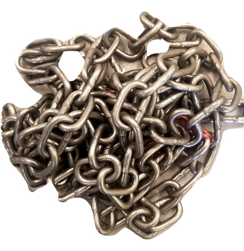 "10' chain 3/16"" for Welding Art Sculpture Projects UNCOATED craft Carvers Olde Iron"