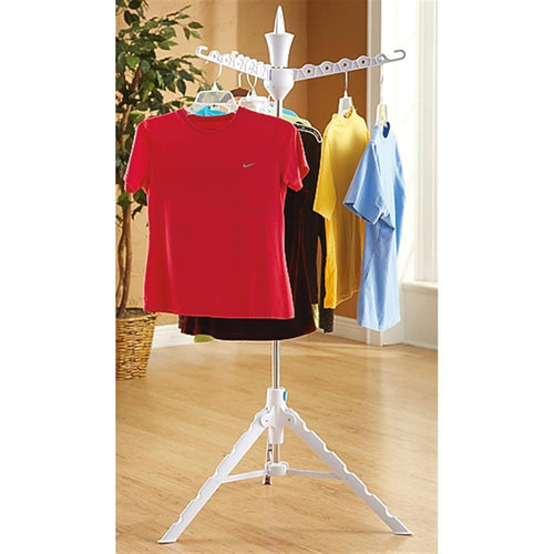Clothes Tree Folding Portable Collapsible display hanger drying travel Clothes Hangers tobi