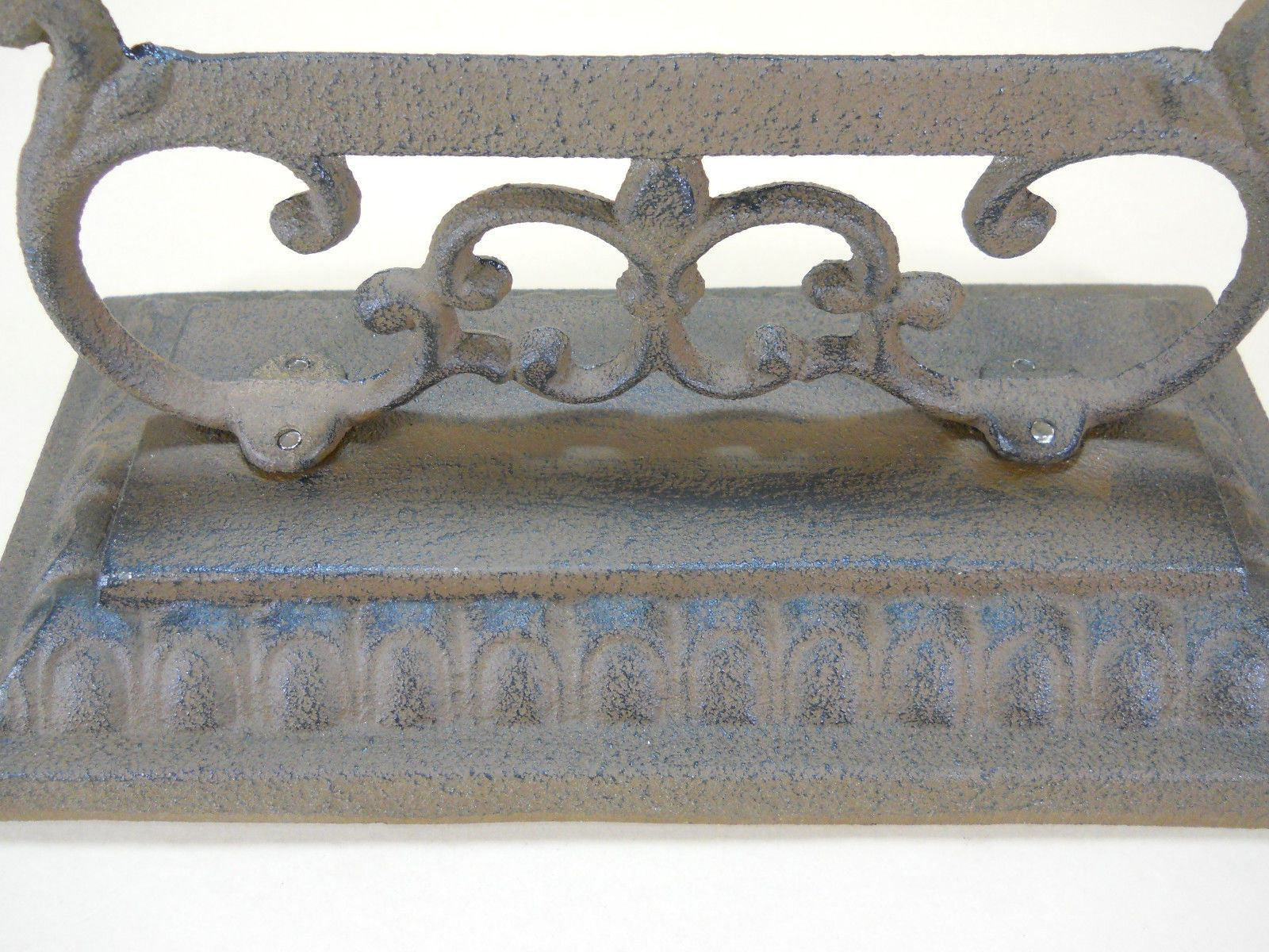 "Boot Scraper Cast Iron Vintage Style Farm Garden Mud 10"" wide"