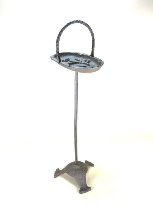 Nautical Anchor Ashtray Stand Cast Iron Ashtrays Carvers Olde Iron