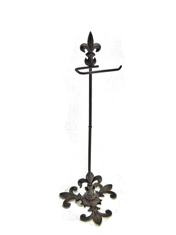 "Cast Iron Butterfly Towel Bar 24"" Natural Finish"