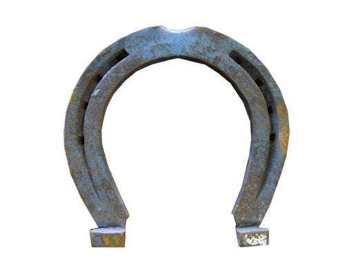 Large Clydesdale Cast Iron Horseshoe for Crafting