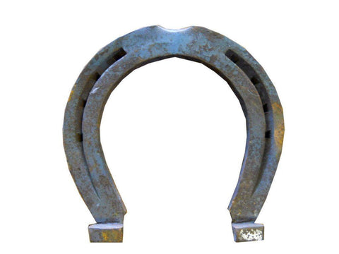 "10Pc Cast Iron Horseshoes Crafting HS4 5x4.5"" FREE SHIPPING"