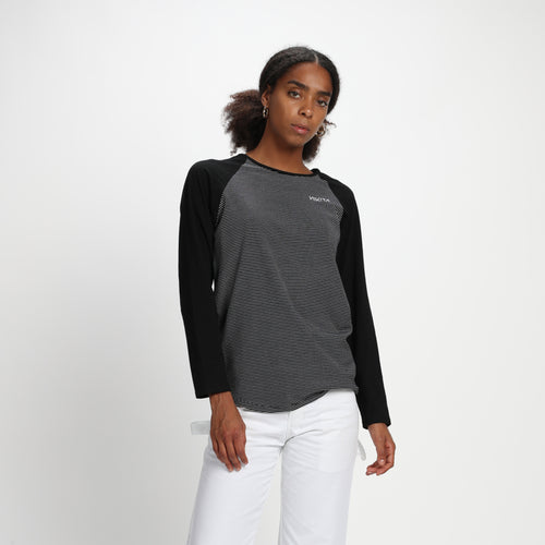 Nikita Maywood Longsleeve Tee Black Stripes