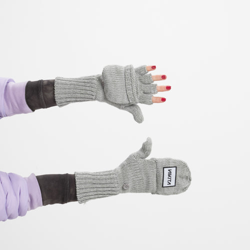 Nikita Clove Gloves Grey