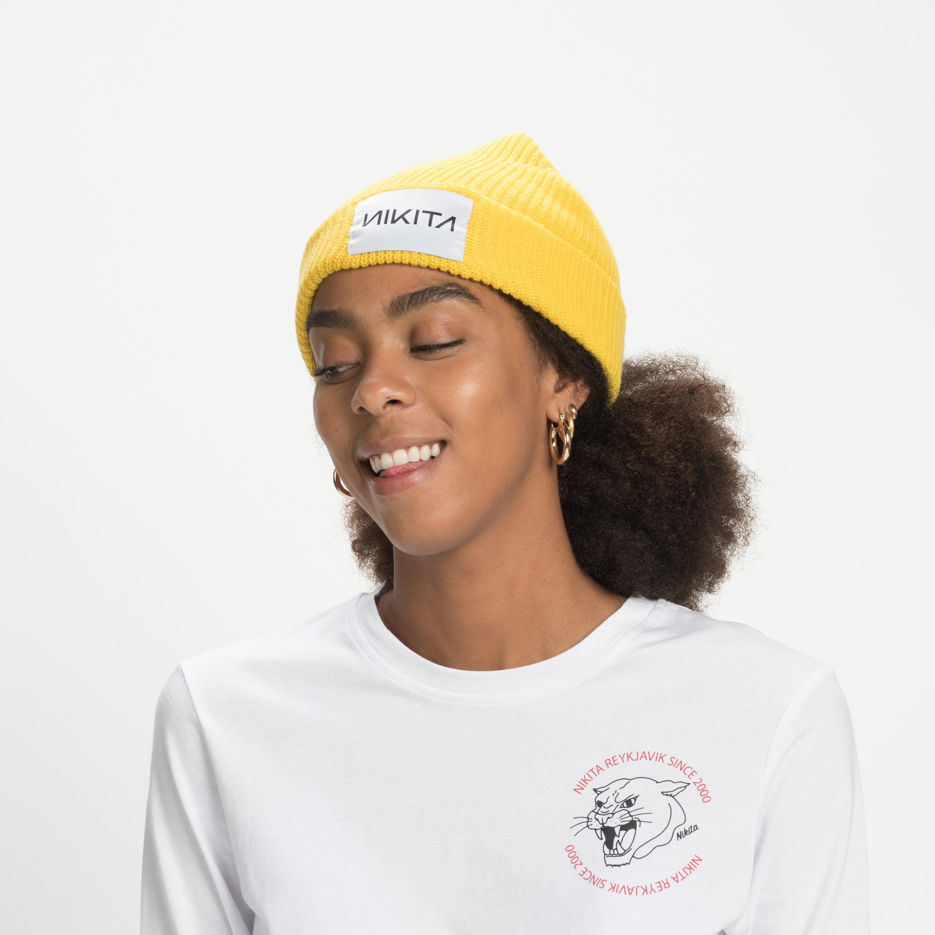 NIKITA Jewel Beanie Yellow