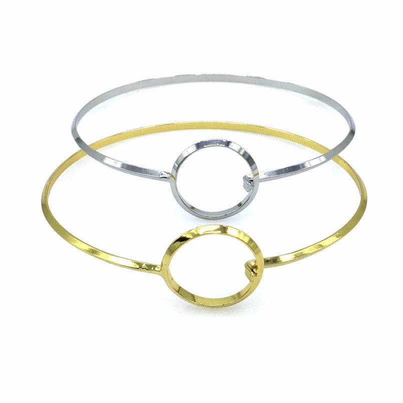 'Avi'  gold ring thin choker