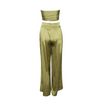 'Denny' Olive trouser two -piece